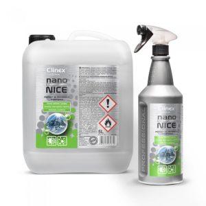 Clinex Nano Protect silver nice καθαριστικό συστημάτων κλιματισμού και εξαερισμού 1L 5L